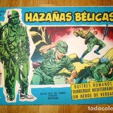 Tebeos: HAZAÑAS BÉLICAS. NÚM. EXTRA 88 : BUITRES HUMANOS ; DUNKERQUE MEDITERRÁNEO ; UN HÉROE DE VERDAD. Lote 95822995