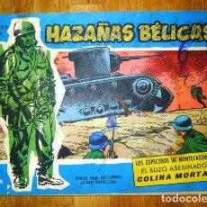 Tebeos: HAZAÑAS BÉLICAS. NÚM. EXTRA 92 : EL ESPECTRO DE MONTECASSINO ; EL BUZO ASESINADO ; COLINA MORTAL.. Lote 95823015