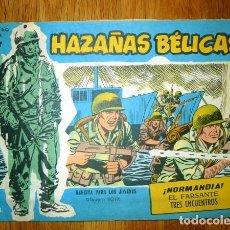 Tebeos: HAZAÑAS BÉLICAS. NÚM. EXTRA 282 : ¡NORMANDÍA! ; EL FARSANTE ; TRES ENCUENTROS . Lote 95823483