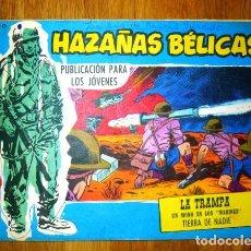Tebeos: HAZAÑAS BÉLICAS. NÚM. EXTRA 284 : LA TRAMPA ; UN MONO EN LOS MARINES ; TIERRA DE NADIE. Lote 95823507