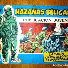 Tebeos: HAZAÑAS BÉLICAS. Nº 287 : LA CARTA ; UN PAR DE BOTAS ; LA FARÁNDULA. Lote 95823563