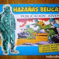 Tebeos: HAZAÑAS BÉLICAS. Nº 358 : ¡LOS COMANDOS NO SE RINDEN! ; LOS DOS RIVALES ; LUZ EN LAS TINIEBLAS. Lote 95823743