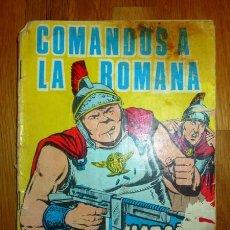 Tebeos: HAZAÑAS BÉLICAS. AÑO 1965 ; EXTRA 190 : COMANDOS A LA ROMANA. Lote 95824247