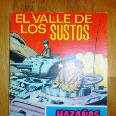 Tebeos: HAZAÑAS BÉLICAS. Nº 260 ; AÑO 1968 : EL VALLE DE LOS SUSTOS . Lote 95824355
