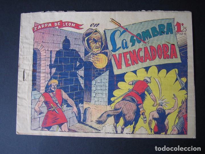 ZARPA DE LEON Nº 9 ( EDICIONES TORAY ,1950) (Tebeos y Comics - Toray - Zarpa de León)