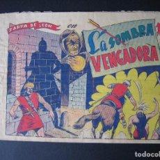 Tebeos: ZARPA DE LEON Nº 9 ( EDICIONES TORAY ,1950). Lote 95955939