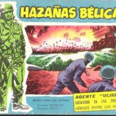 Tebeos: HAZAÑAS BÉLICAS EXTRA..ORIGINAL DE ÉPOCA.EDICIONES TORAY.AÑO 1958.Nº 185. Lote 96019799