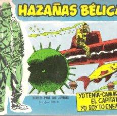 Tebeos: HAZAÑAS BÉLICAS EXTRA..ORIGINAL DE ÉPOCA.EDICIONES TORAY.AÑO 1958.Nº 277. Lote 96020487