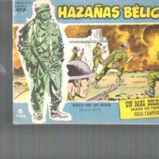 Tebeos: HAZAÑAS BÉLICAS EXTRA..ORIGINAL DE ÉPOCA.EDICIONES TORAY.AÑO 1958.Nº 279. Lote 96021375