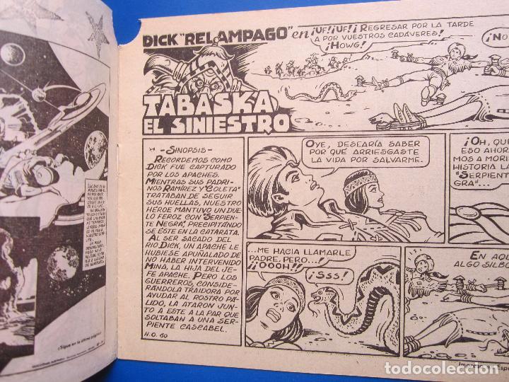 Tebeos: dick relampago , n.4 , tabaska el siniestro , toray 1961 - Foto 2 - 96311851