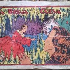 Tebeos - Colección Azucena. La Bruja de la cueva nº 95 original - 96421219