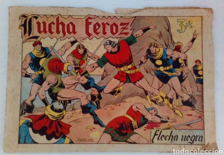 FLECHA NEGRA NO. 15 DE TORAY. ORIGINAL. BOIXCAR (Tebeos y Comics - Toray - Flecha Negra)