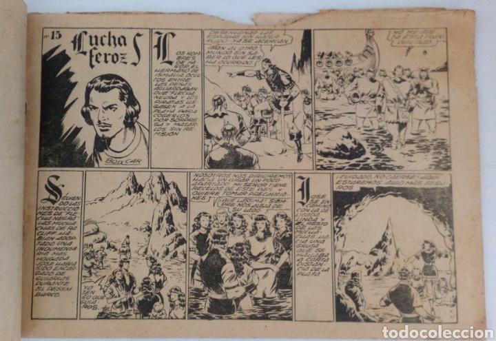 Tebeos: FLECHA NEGRA No. 15 DE TORAY. ORIGINAL. BOIXCAR - Foto 3 - 96507568