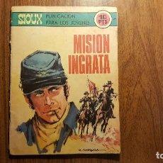 Tebeos: COMIC SIOUX --- MISIÓN INGRATA---,EDICIONES TORAY AÑO 1970. Lote 96526975