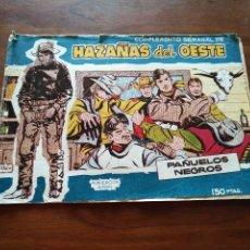 Tebeos: COMICS HAZAÑAS DEL OESTE 4 PAÑUELOS NEGROS. Lote 96978871