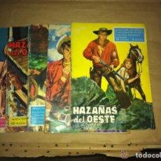 Tebeos: HAZAÑAS DEL OESTE -LOTE DE 5. Lote 96980643