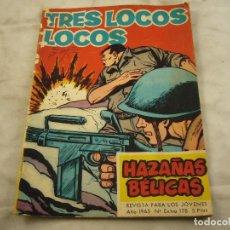 Livros de Banda Desenhada: GORILA. EXTRA 178. AÑO 1965. HAZAÑAS BÉLICAS. TRES LOCOS LOCOS. Lote 98147083
