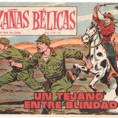 Tebeos: HAZAÑAS BÉLICAS ORIGINAL Nº 271 - TORAY 1958 - VICENTE FARRÉS DIBUJOS - MUY BUEN ESTADO. Lote 98166323
