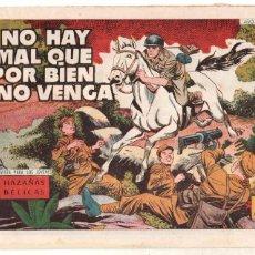 Tebeos: HAZAÑAS BÉLICAS ORIGINAL Nº 259 ÚLTIMO DE BOIXCAR EN ESTA COLECCIÓN - 1958 TORAY. Lote 98166395