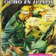 Tebeos: CÓMIC HAZAÑAS BÉLICAS Nº 14 ¨OCASO EN LLAMAS¨. Lote 98372543