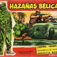 Tebeos: CÓMIC HAZAÑAS BÉLICAS Nº EXTRA 126 ¨ADIÓS GORILA¨. Lote 98374767