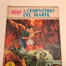 Tebeos: COLECCION LEOPARDO Nº 10. EL CEMENTERIO DE MARFIL. TORAY 1970. Lote 98809999