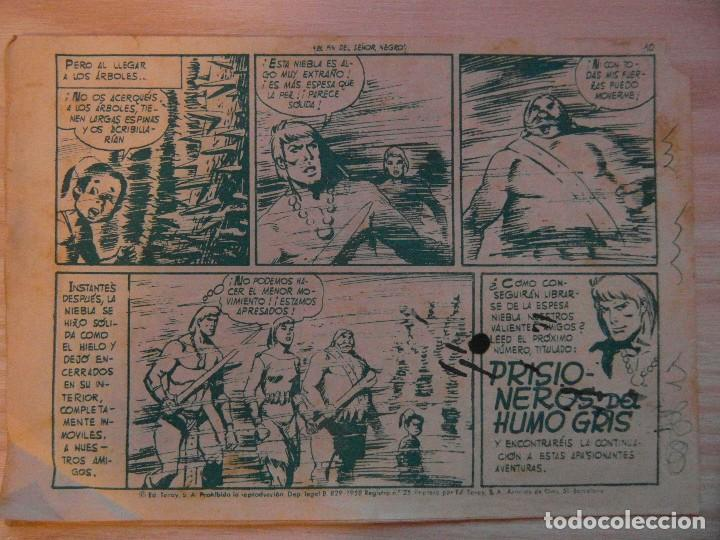 Tebeos: El fin del señor negro.nº 16 Katan coleccion Seleccion de Aventuras.Toray.1961.Dibuja Brocal Remohi - Foto 2 - 99250059