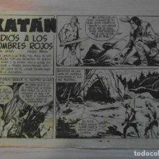 Tebeos: ADIOS A LOS HOMBRES ROJOS.Nº 26 KATAN COLECCION SELECCION DE AVENTURAS.TORAY.1961.DIBUJA BROCAL REMO. Lote 99250155