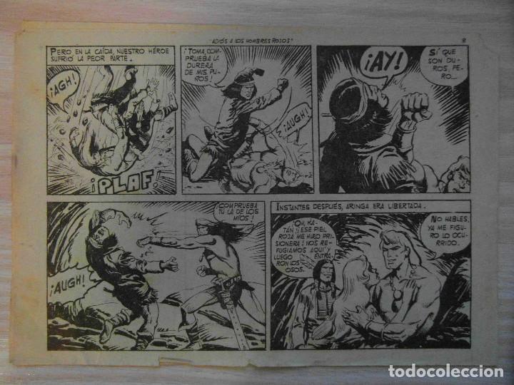 Tebeos: Adios a los hombres rojos.nº 26 Katan coleccion Seleccion de Aventuras.Toray.1961.Dibuja Brocal Remo - Foto 2 - 99250155