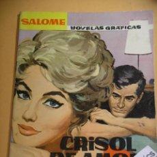 BDs: SALOMÉ Nº 26, ED TORAY, AÑO 1962, JOHN GAVIN, RELATOS ROMANTICOS, ERCOM. Lote 99404771