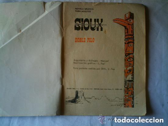 Tebeos: DOBLE FILO - Foto 3 - 99899075