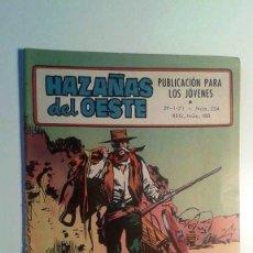 Tebeos: HAZAÑAS DEL OESTE Nº 234 - TORAY. Lote 100175219
