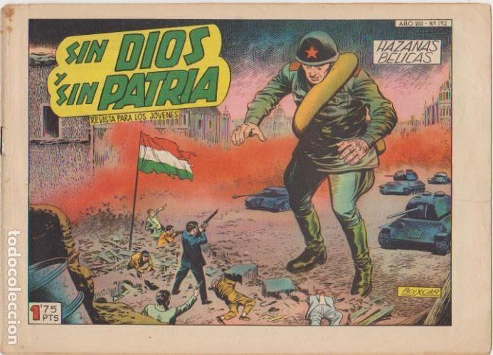 HAZAÑAS BÉLICAS Nº 192. TORAY 1950. (Tebeos y Comics - Toray - Hazañas Bélicas)