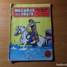 Tebeos: HAZAÑAS DEL OESTE N º 200 EDITORIAL TORAY . Lote 100995383