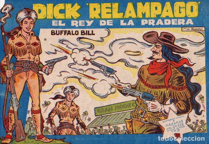 ORIGINAL - DICK RELÁMPAGO. EL REY DE LA PRADERA. NÚMERO 14. MUY BUEN ESTADO (Tebeos y Comics - Toray - Dick Relampago)