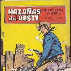 Tebeos: COMIC COLECCION HAZAÑAS DEL OESTE Nº 163. Lote 102190419