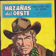 Tebeos: COMIC COLECCION HAZAÑAS DEL OESTE Nº 154. Lote 102190551
