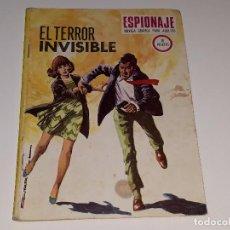 Tebeos: ANTIGUO COMIC - ESPIONAJE - EL TERROR INVISIBLE Nº 70 - EDICIONES TORAY - AÑO 1967. Lote 102735979