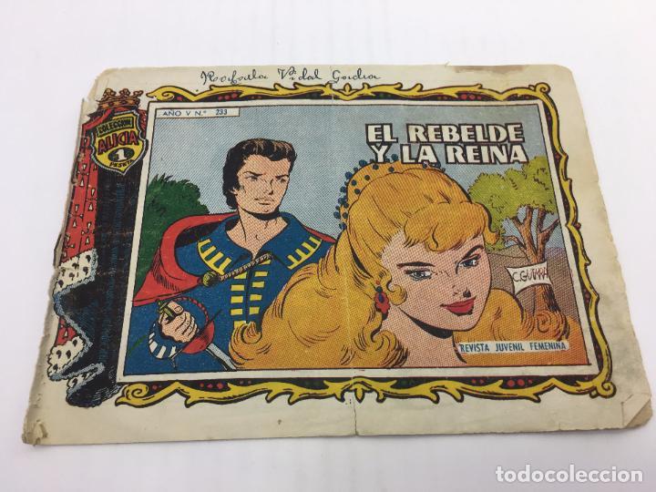 COLECCION ALICIA Nº 233 EDICIONES TORAY S.A. - AÑO 1958 (Tebeos y Comics - Toray - Alicia)