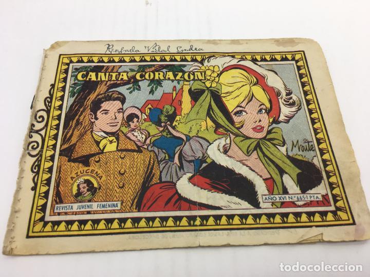 AZUCENA Nº 665 - AÑO 1968 EDICIONES TORAY (Tebeos y Comics - Toray - Azucena)