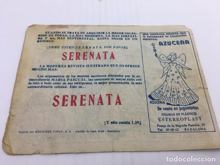Tebeos: AZUCENA Nº 665 - AÑO 1958 ediciones TORAY - Foto 2 - 103104219