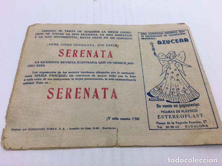 Tebeos: AZUCENA Nº 483 - AÑO 1958 ediciones TORAY - Foto 2 - 103104447