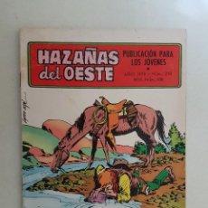 Tebeos: HAZAÑAS DEL OESTE. Nº 210. TORAY.. Lote 103144651
