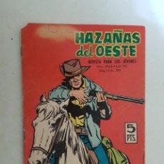Tebeos: HAZAÑAS DEL OESTE. Nº 93. TORAY.. Lote 103144987