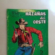 Tebeos: HAZAÑAS DEL OESTE. Nº 128. TORAY.. Lote 103145183