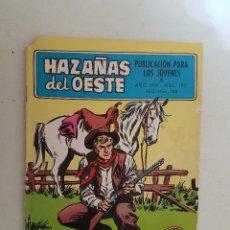 Tebeos: HAZAÑAS DEL OESTE. Nº 190. TORAY.. Lote 103145351