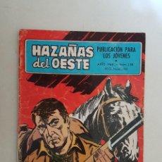 Tebeos: HAZAÑAS DEL OESTE. Nº 158. TORAY.. Lote 103145859