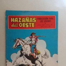 Tebeos: HAZAÑAS DEL OESTE. Nº 191. TORAY.. Lote 103146027
