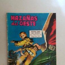 Tebeos: HAZAÑAS DEL OESTE. Nº 81. TORAY.. Lote 103147135