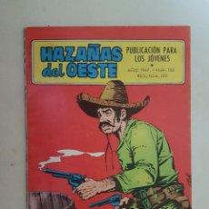 Tebeos: HAZAÑAS DEL OESTE. Nº 152. TORAY.. Lote 103147815